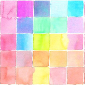 watercolor tiles