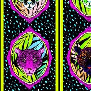 neon jungle stripe