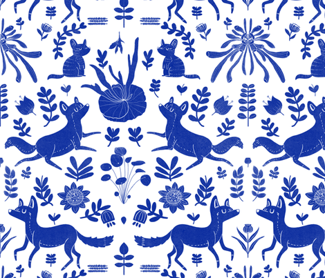terra australis fabric by jinyhe on Spoonflower - custom fabric