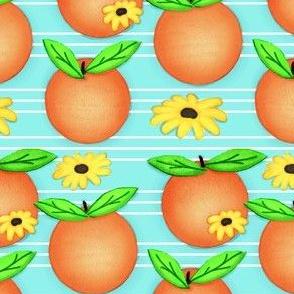Orange Apeal & Petals