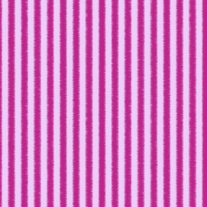 Fuzzy Rose Red and Pink Stripe