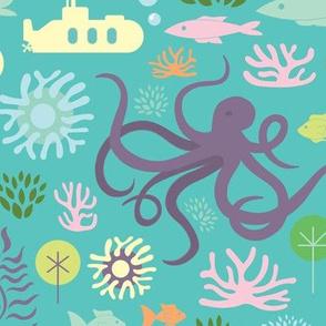 Octopus's Garden on Aqua