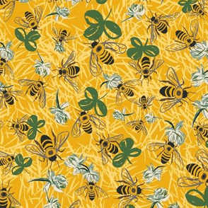 C1004_CLOVER BEE DITSY-gold-R