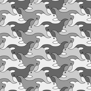 07623768 : rabbit 2g 4 : grey