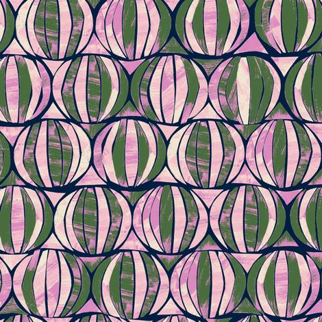 G1018_GEO HIVE-artichoke-R fabric by elizabethhalpern on Spoonflower - custom fabric