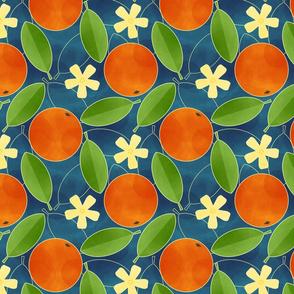 Oranges - Blue