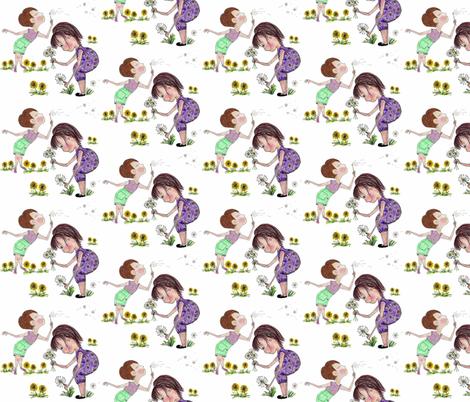 Field of Dreams fabric by sowgoodgreta on Spoonflower - custom fabric
