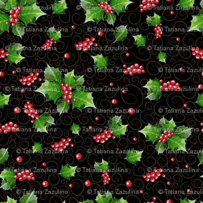Pattern_holly