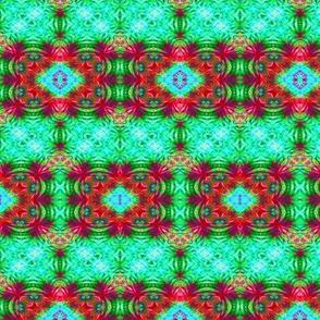 Red & Green Mardi Gras Stripe