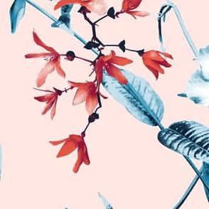 Daria Floral in Pink