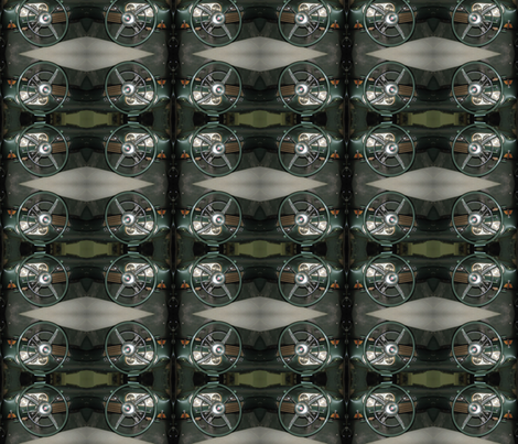 Packard dash fabric by pegt2952@hotmail_com on Spoonflower - custom fabric