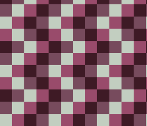 red_checkers fabric by teziprints on Spoonflower - custom fabric