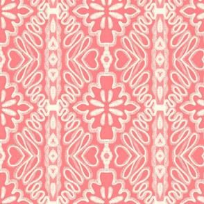 Cottage Doodle / blush pink