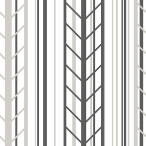 stripe arrow pattern