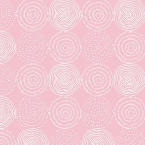 Soft Pink Tree Rings