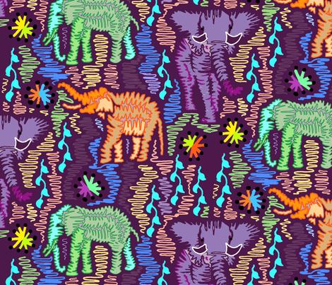 Epic Land Strollers fabric by adrianne_vanalstine on Spoonflower - custom fabric