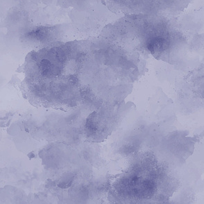 Dark  Purple Plum Indigo Blue Blender || Watercolor Textured Grunge Solid Quilt Coordinate Faux Suede _ Miss Chiff Designs