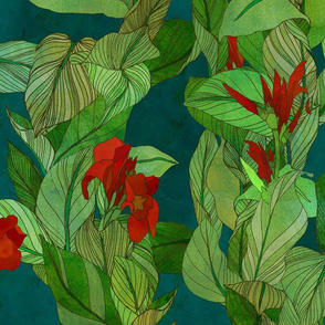 cannas spoonflower