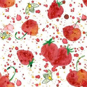 Berry Cherry Honey Bee