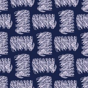 Indigo japanese pattern