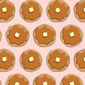 pancakes - pink