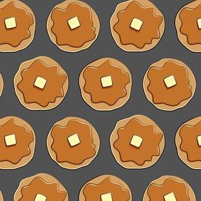 pancakes - grey