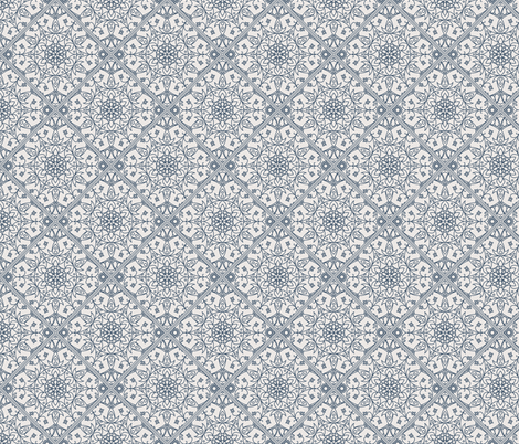 Arabic Vintage Pattern Decoration fabric by dacascas on Spoonflower - custom fabric