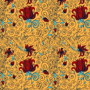 floral pattern_color