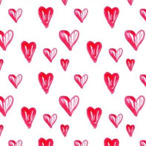 Heart pattern watercolor3