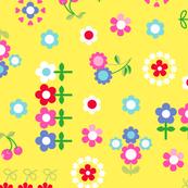 Happy Flowers Yellow
