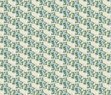Stucco Wall with Vines fabric by kae50 on Spoonflower - custom fabric
