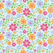 pretty bohemian floral