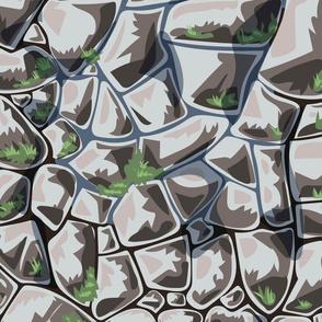 seamless background stones