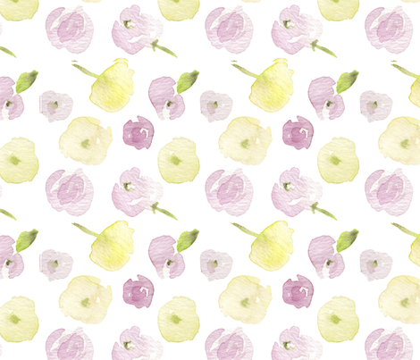 Seamless summer florals-1-1 fabric by daily_miracles on Spoonflower - custom fabric