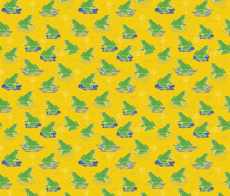 Rrrlimolida_summer_at_the_duck_pond_yellow_frog_seaml_stock_shop_preview