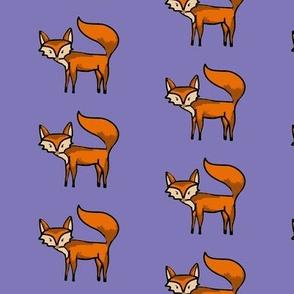 Fox friend-purple