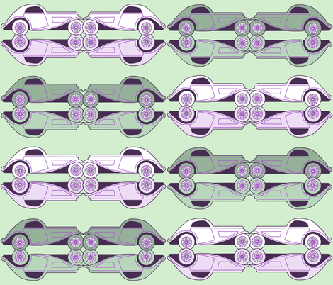Deco cars fabric by stacystudios on Spoonflower - custom fabric