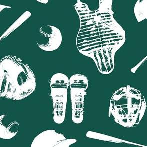 Baseball Gear on Cyprus Green // Large