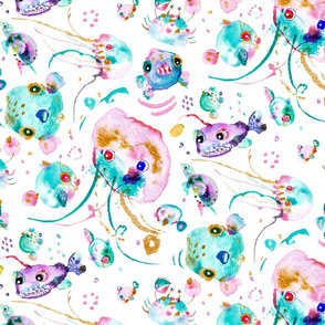 spoonflower-seacreatures