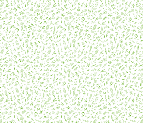 grasses fabric by moozi on Spoonflower - custom fabric