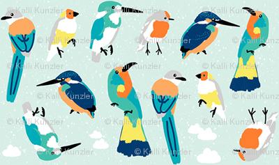 Bird Lineup Mini