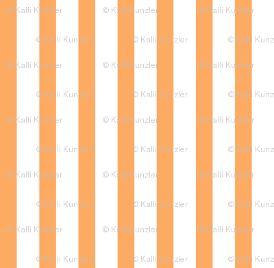 Bold Stripe Vertical Orange