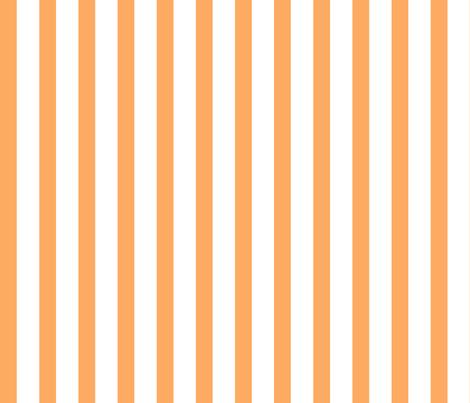 Bold Stripe Vertical Orange fabric by sweeterthanhoney on Spoonflower - custom fabric