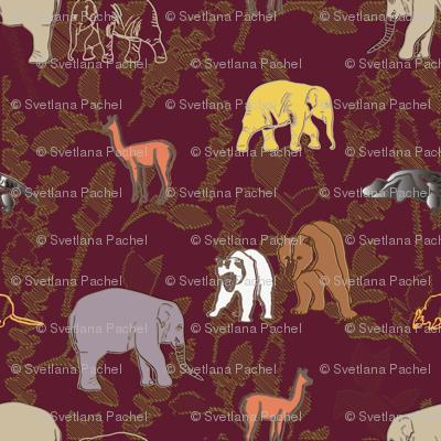 animals by land