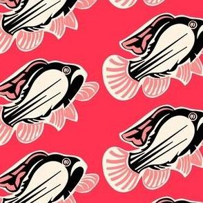 Pink trout sewindigo