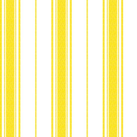 Chevron Stripe in Marigold fabric by gigi&mae on Spoonflower - custom fabric