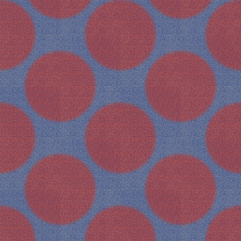 A Nod to Bauhaus Dots 5 fabric by anniedeb on Spoonflower - custom fabric