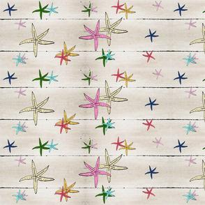 starfish sunset beachwood - LARGE