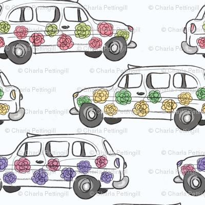 Fleur voitures
