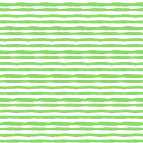 Little Paper Straws in Bright Green Horizontal